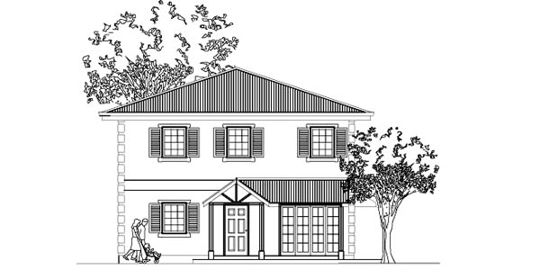 31 x 31 Vastu Home 027 house plans