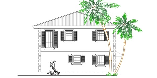 31 x 31 Vastu Home 030 house plans
